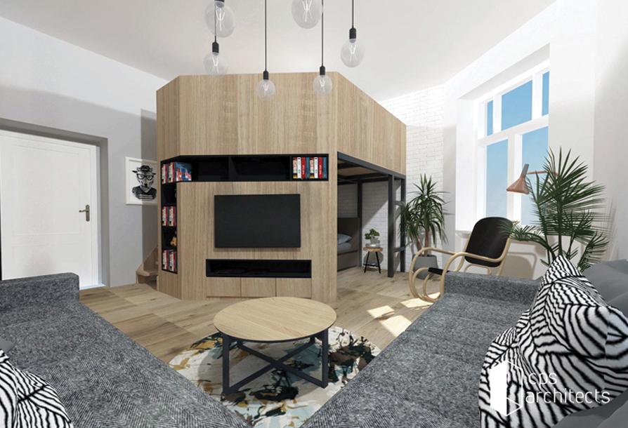 návrh obývačka Bratislava